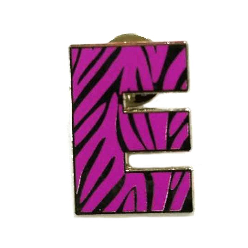 Artigifts Custom Letter Lapel Pin Bulk Enamel Metal Badge Pin