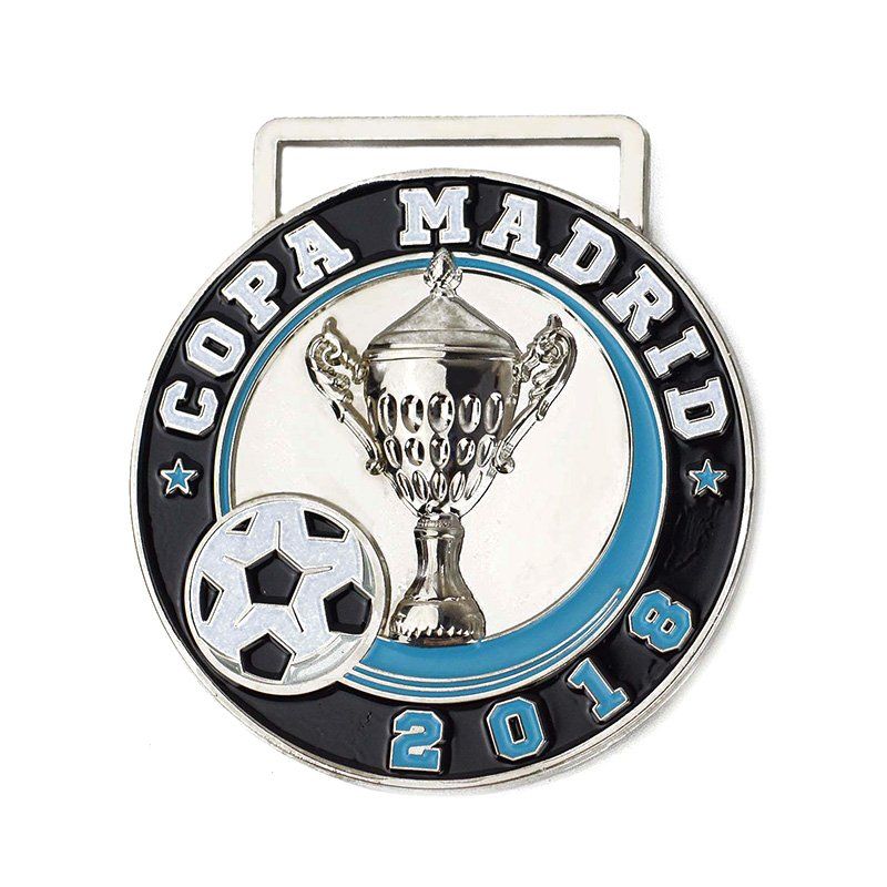 Metal Medal Football Custom Made Your Own Enamel Sports Medal