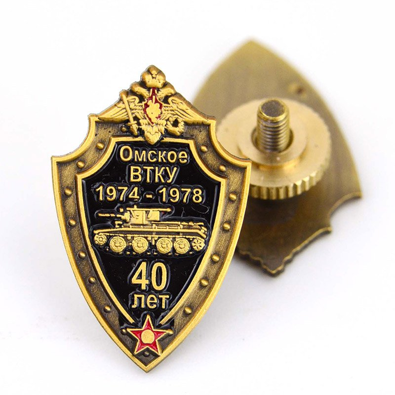 Oem Odm Custom Enamel Lapel Pin Metal Collar Pins For Shirts