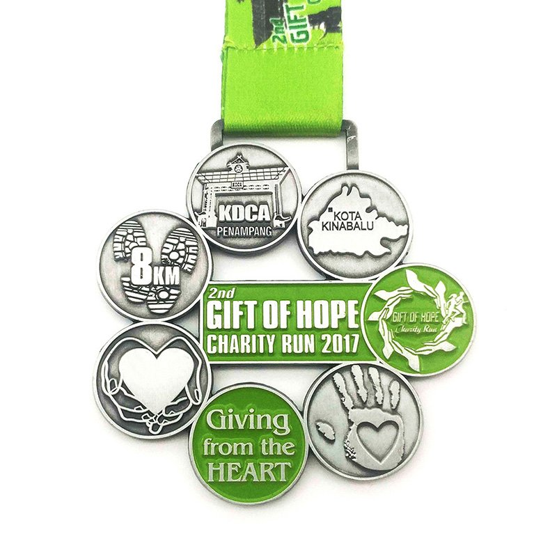 Running Sport Medals Custom Made Metal Medallion Award Medal
