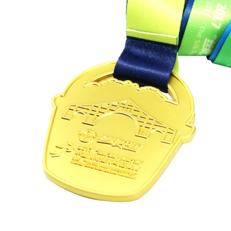 Custom-Made Medallion Cheap Metal Gold Sports Award Medals