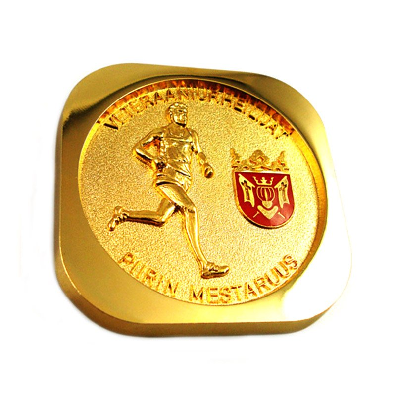 3D Challenge Coin Custom Made Your Own Metal Sports Gold Coin