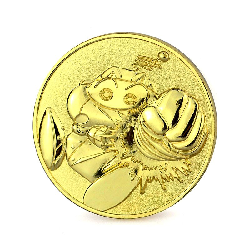 Iron Coin Manufacturers Supplier Bulk Metal Gold Plated Coins