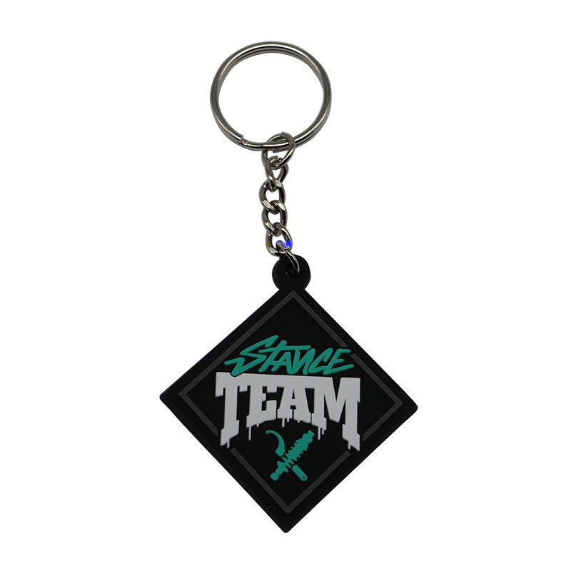 Wholesale cheap 3D soft pvc keychain Rubber Key Chains