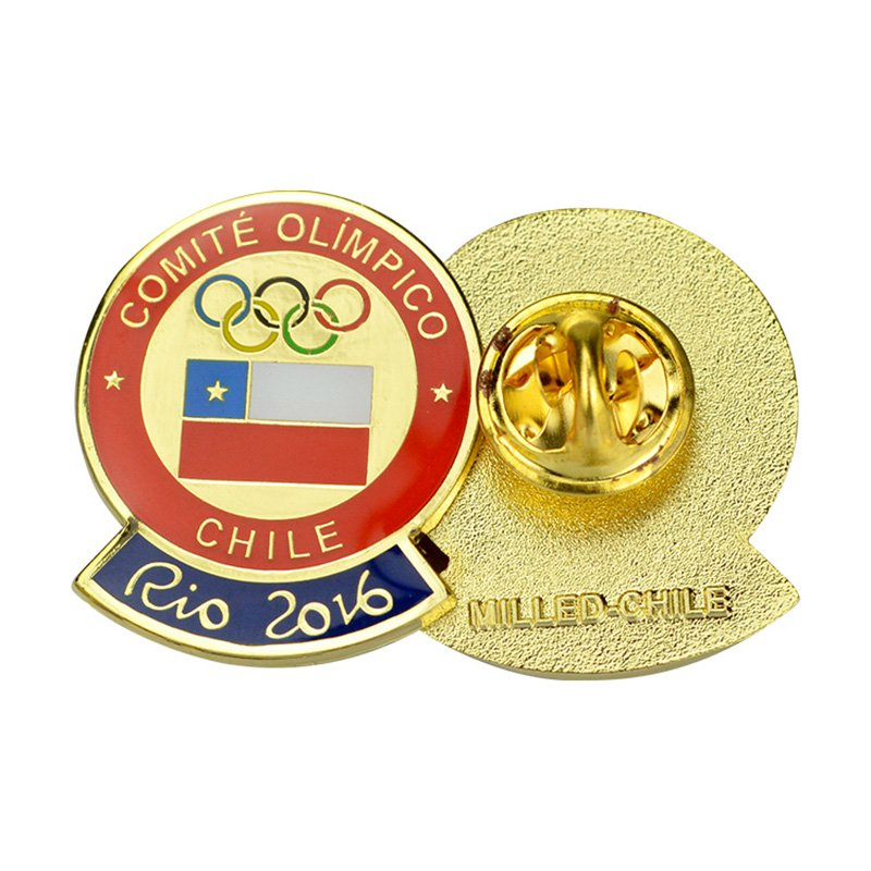 Oem Factory Wholesale Lapel Badge Custom Soft Hard Enamel Pins