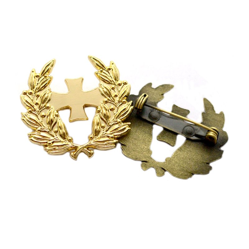 Custom Badges And Pins Metal Plated Bronze Lapel Pin Badges