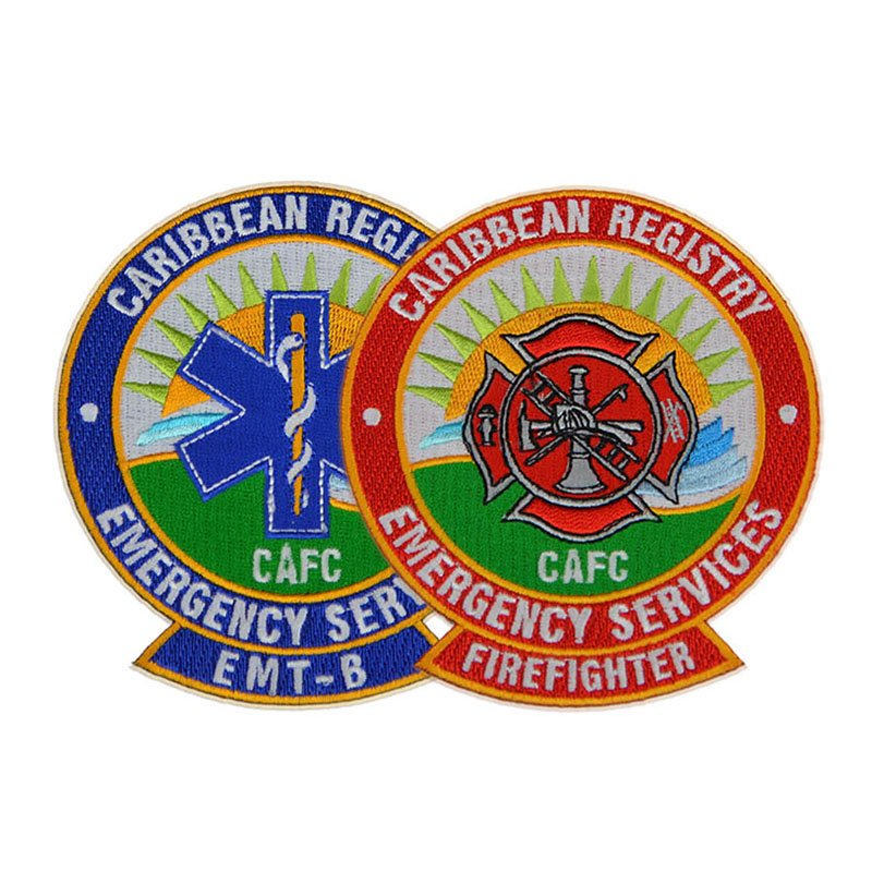 Oem Cloth Badges Custom Make You Own Woven Embroidery Patch