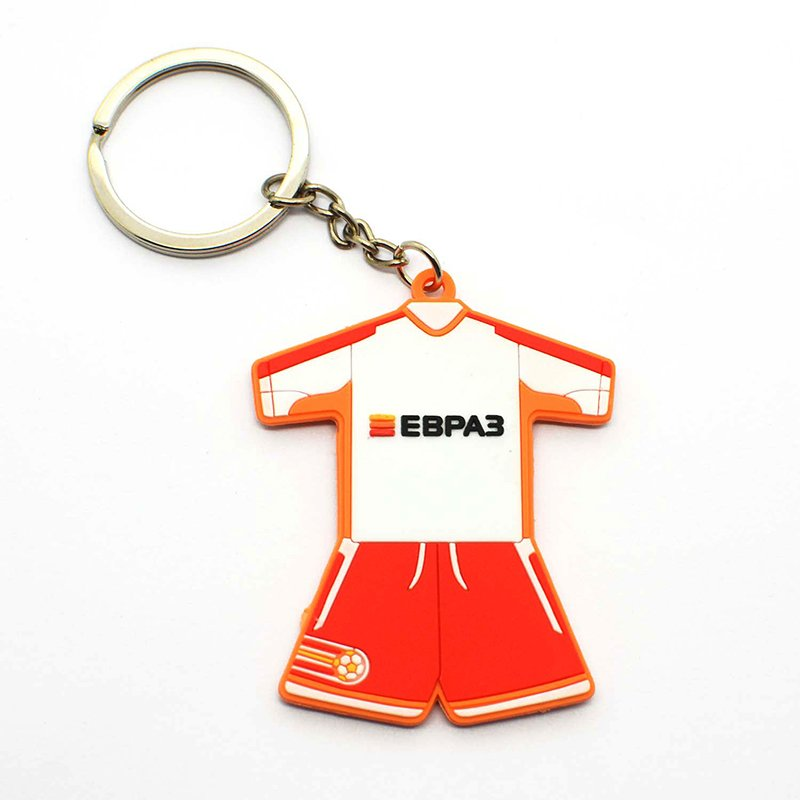 Silicone Key Ring Custom Sports Keychain Soft Pvc Key Chains