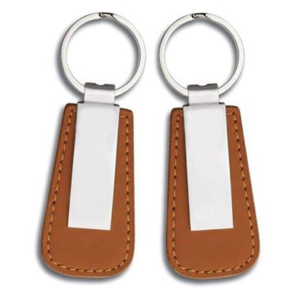Pu Leather Key Chain Custom Personalized Keychains For Him