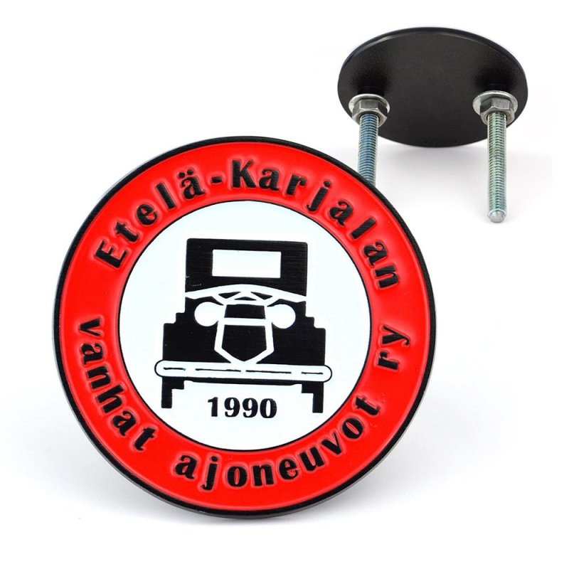 Custom Car Emblem Logo Metal Enamel Car Badge Make Your Own
