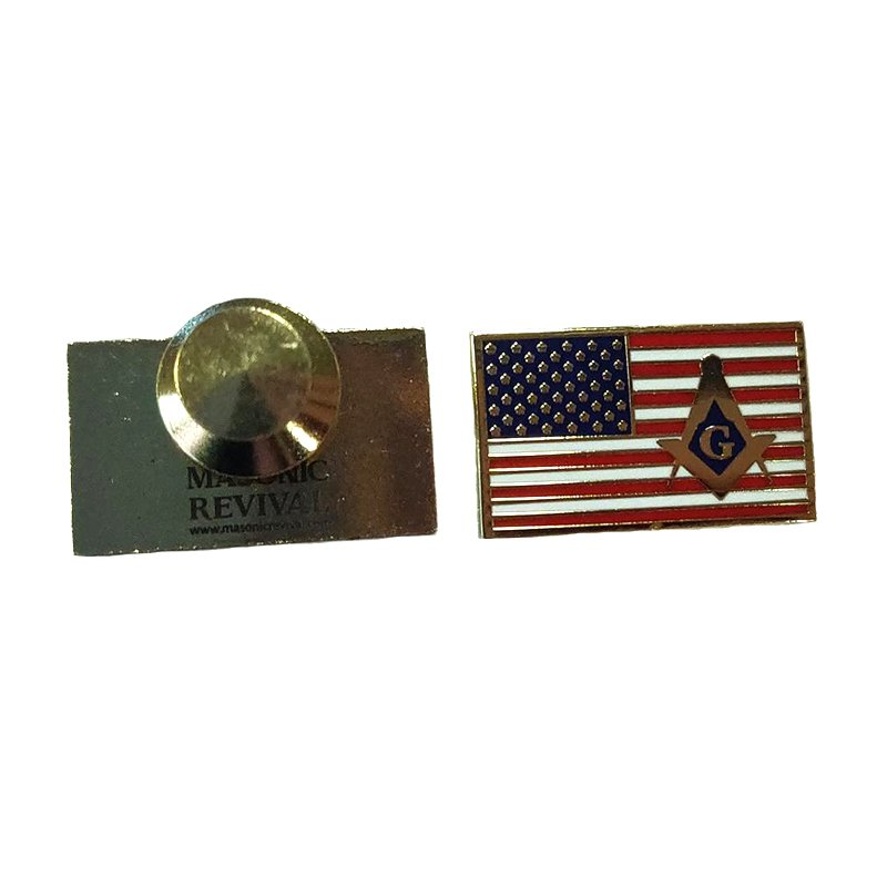 American Flag Badges Pin Enamel Custom Bulk Lapel Pins Metal