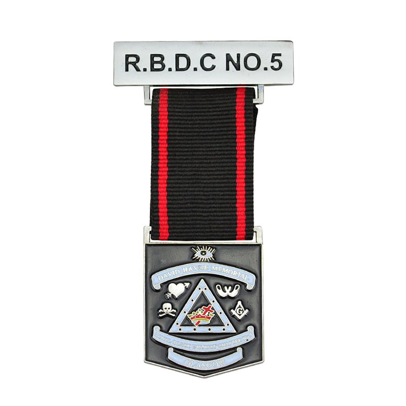 Army Medals And Ribbons Custom Metal Military Award Medallion