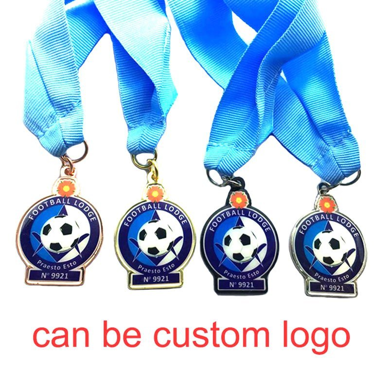 Football Medal Award Cheap Custom Printed Soccer Medal Sports