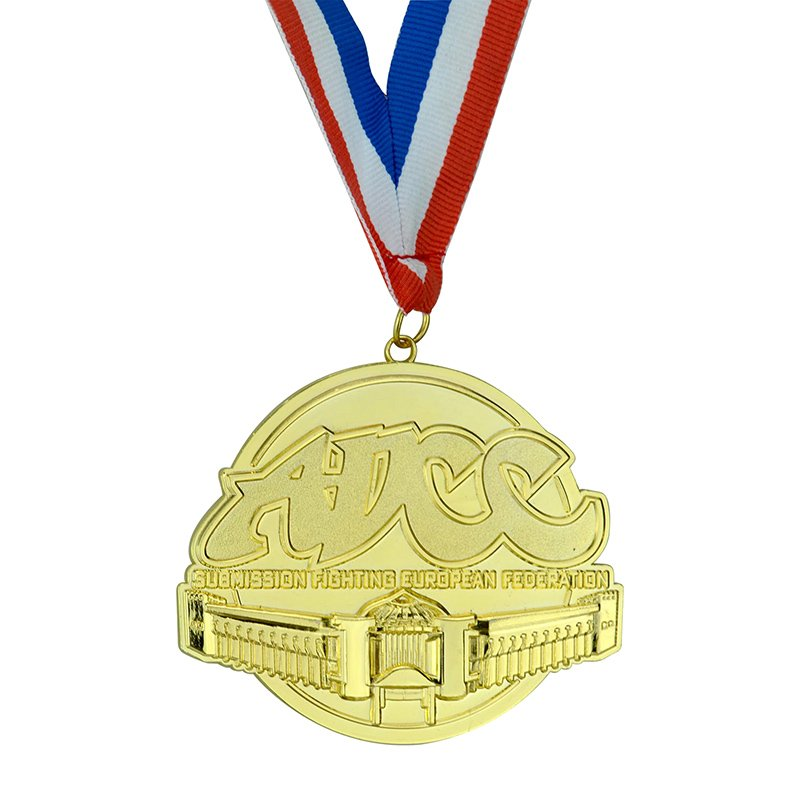 Custom Medallion Gold No Minimum Make Your Own Metal Medal
