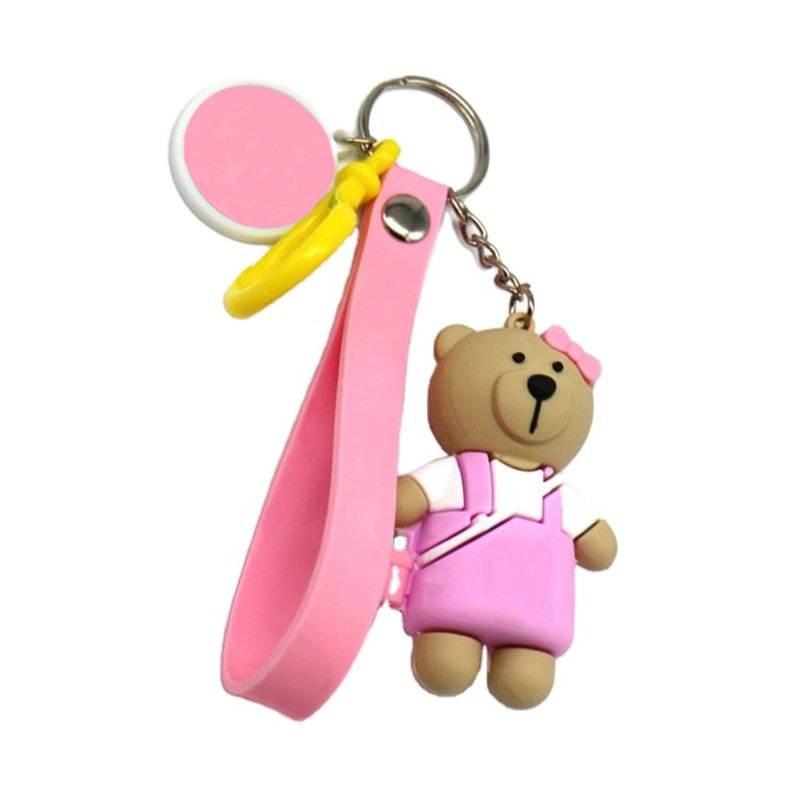 Baby Keychain Custom Made Your Own 3D Plastic Soft Toy Key Chain