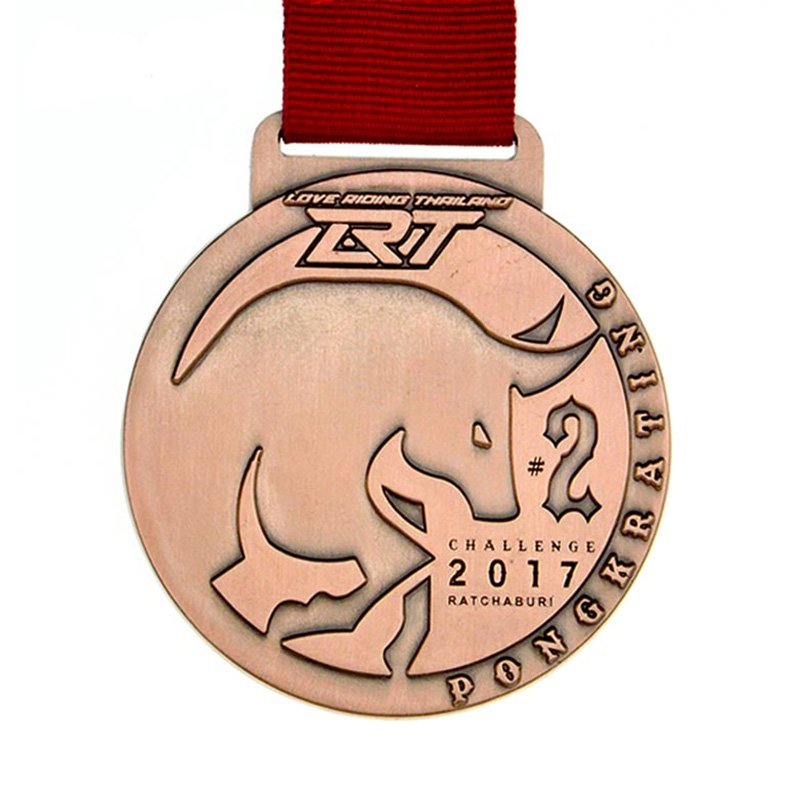 Custom Sublimation Medallion Engraved Metal Copper Medal