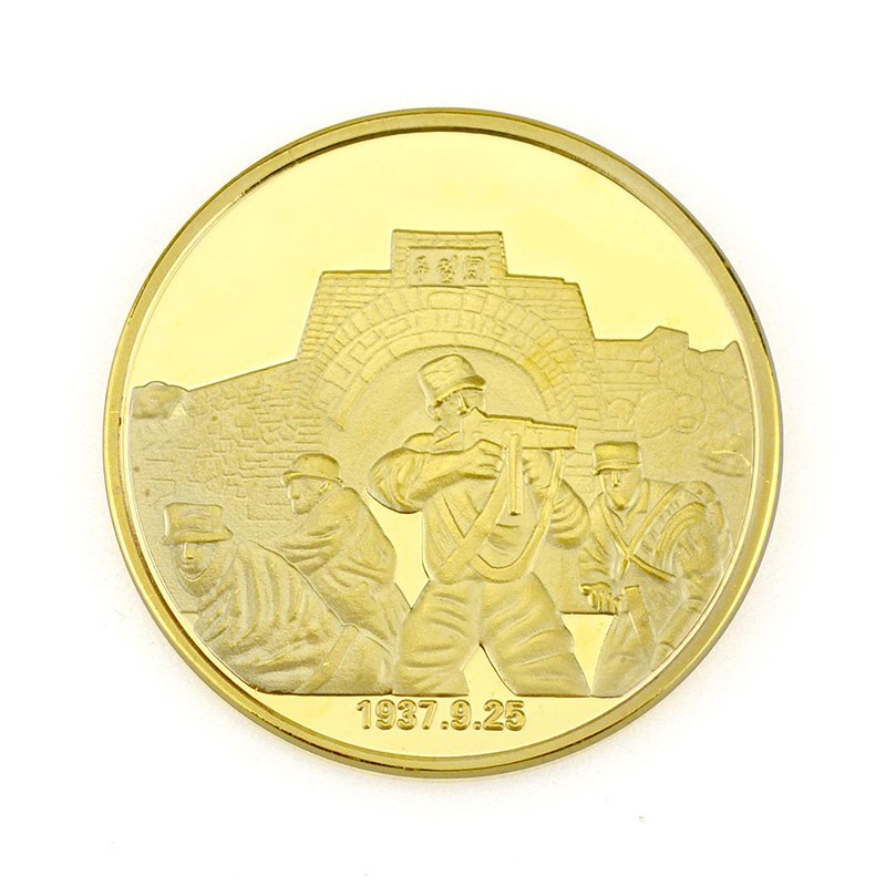 Wholesale Buying Gold Coins Die Casting Metal Souvenir Coin