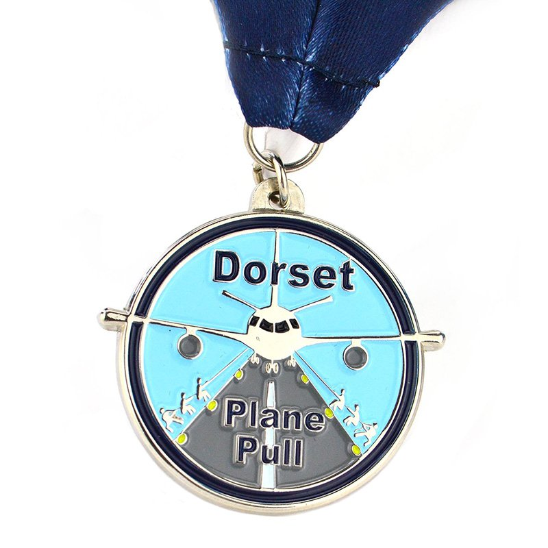 Promotional Trophies And Awards Cheap Custom Logo Enamel Medal