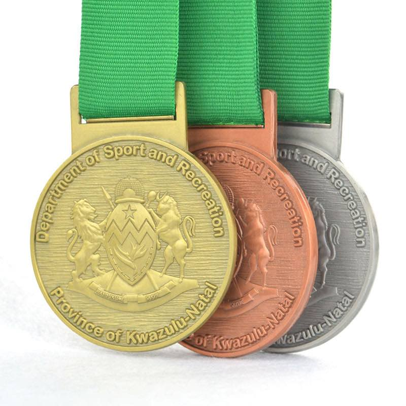 Sports Day Rugby Medals Custom Design Metal 3D Mold Personalise
